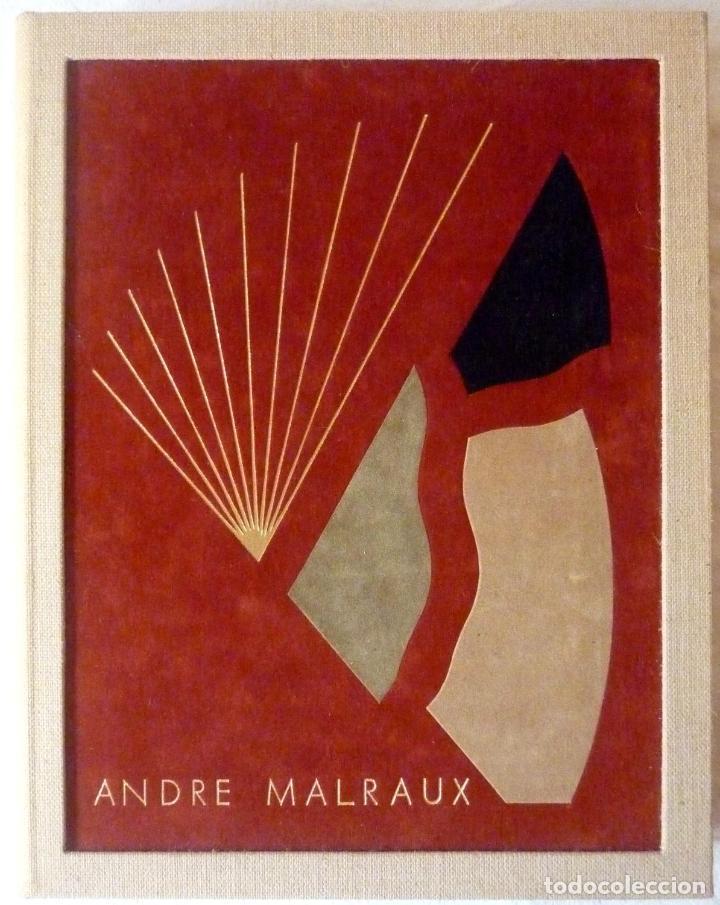 ORAISONS FUNÈBRES ANDRÉ MALRAUX LIBRO ARTISTA NUMERADO FIRMADO A MANO LITOGRAFÍA 338/495 ARROYO (Libros de Segunda Mano - Bellas artes, ocio y coleccionismo - Otros)
