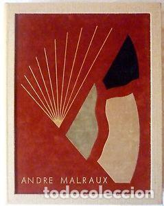 Libros de segunda mano: ORAISONS FUNÈBRES ANDRÉ MALRAUX LIBRO ARTISTA NUMERADO FIRMADO A MANO LITOGRAFÍA 338/495 ARROYO - Foto 4 - 106593163