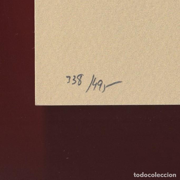 Libros de segunda mano: ORAISONS FUNÈBRES ANDRÉ MALRAUX LIBRO ARTISTA NUMERADO FIRMADO A MANO LITOGRAFÍA 338/495 ARROYO - Foto 6 - 106593163