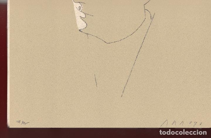 Libros de segunda mano: ORAISONS FUNÈBRES ANDRÉ MALRAUX LIBRO ARTISTA NUMERADO FIRMADO A MANO LITOGRAFÍA 338/495 ARROYO - Foto 21 - 106593163