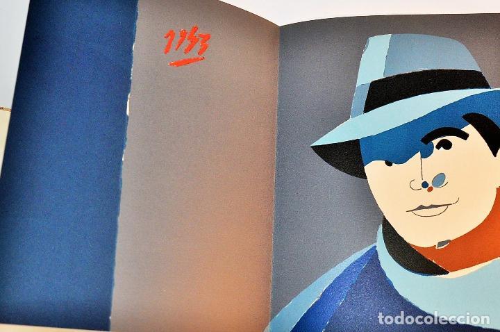 Libros de segunda mano: ORAISONS FUNÈBRES ANDRÉ MALRAUX LIBRO ARTISTA NUMERADO FIRMADO A MANO LITOGRAFÍA 338/495 ARROYO - Foto 25 - 106593163