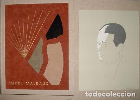 Libros de segunda mano: ORAISONS FUNÈBRES ANDRÉ MALRAUX LIBRO ARTISTA NUMERADO FIRMADO A MANO LITOGRAFÍA 338/495 ARROYO - Foto 27 - 106593163
