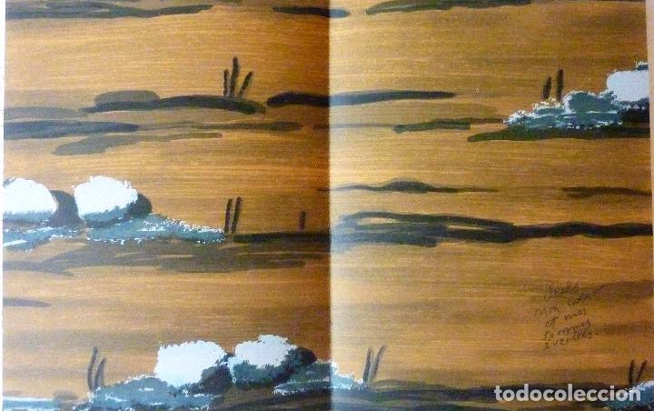 Libros de segunda mano: ORAISONS FUNÈBRES ANDRÉ MALRAUX LIBRO ARTISTA NUMERADO FIRMADO A MANO LITOGRAFÍA 338/495 ARROYO - Foto 28 - 106593163