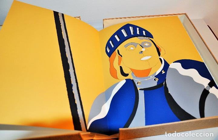Libros de segunda mano: ORAISONS FUNÈBRES ANDRÉ MALRAUX LIBRO ARTISTA NUMERADO FIRMADO A MANO LITOGRAFÍA 338/495 ARROYO - Foto 29 - 106593163