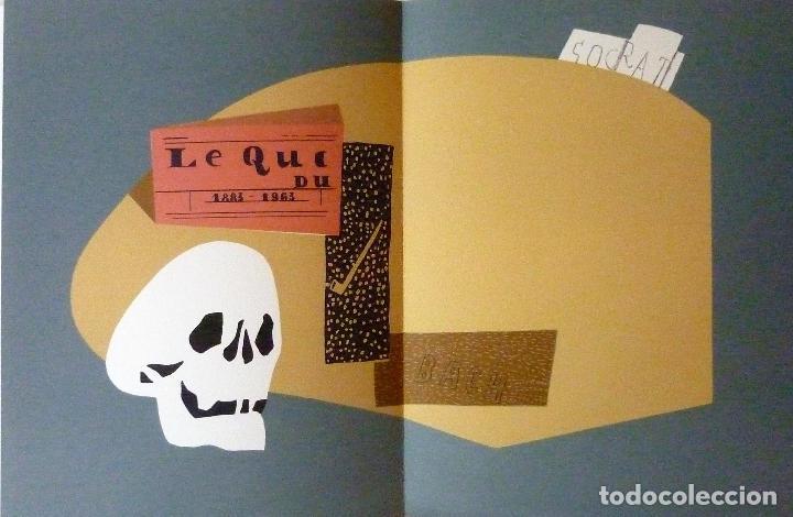 Libros de segunda mano: ORAISONS FUNÈBRES ANDRÉ MALRAUX LIBRO ARTISTA NUMERADO FIRMADO A MANO LITOGRAFÍA 338/495 ARROYO - Foto 31 - 106593163