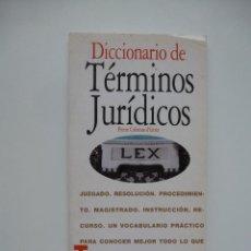 Libros de segunda mano: DICCIONARIO DE TÉRMINOS JURÍDICOS. ACENTO EDITORIAL. COLECCIÓN FLASH. Lote 106633495
