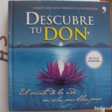 Libros de segunda mano: DESCUBRE TU DON. Lote 106660323