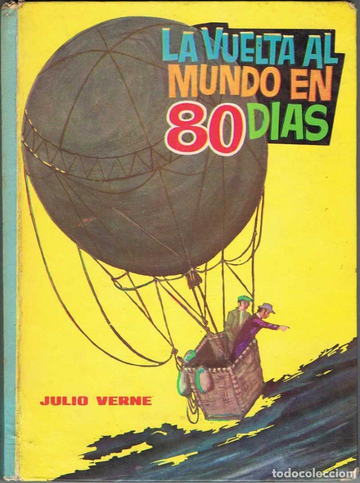 LA VUELTA AL MUNDO EN 80 DÍAS - JULIO VERNE (Libros de Segunda Mano - Literatura Infantil y Juvenil - Otros)