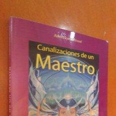 Libros de segunda mano: RUBEN ESCARTIN PASCUAL , CANALIZACIONES DE UN MAESTRO. Lote 106904639