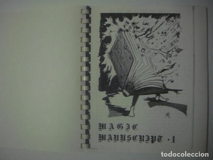 LIBRERIA GHOTICA. MAGIC MANUSCRIPT 1. 1980. EL DRAC MAGIC. FOLIO MENOR. MUY ILUSTRADO. MAGIA. (Libros de Segunda Mano - Parapsicología y Esoterismo - Otros)