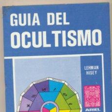 Livros em segunda mão: GUÍA DEL OCULTISMO. LEHMAN HISEY. ARIEL ESOTÉRICA - ECUADOR 1976.. Lote 107008955