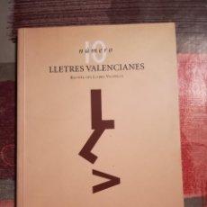 Libros de segunda mano: LLETRES VALENCIANES Nº 10 - REVISTA DEL LLIBRE VALENCIÀ. Lote 107201391