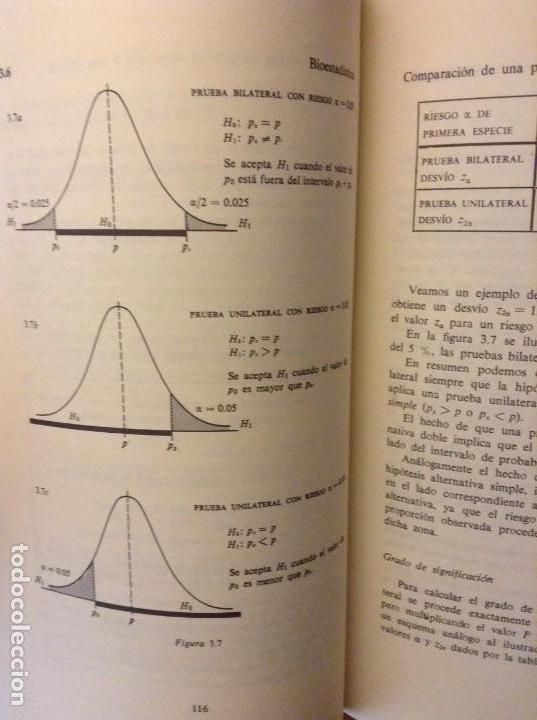 Libros de segunda mano: BIOESTADISTICA. METODOS ESTADISTICOS PARA INVESTIGADORES (JOSEP M. DOMENECH) EDITORIAL HERDER - Foto 19 - 107254775