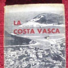 Libros de segunda mano: DESCRIPCIÓN GRÁFICA DE LA COSTA VASCA DE SOLLUBE AÑO 1961. CON 130 FOTOGRAFÍAS Y 6 MAPAS.. Lote 107311759