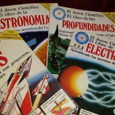 Libros de segunda mano: EL JOVEN CIENTIFICO 4 LIBROS. Lote 107327276