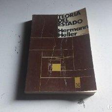 Libros de segunda mano: TEORIA DEL ESTADO....HERMANN HELLER...1981.... Lote 107350471