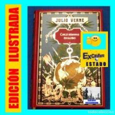 Libros de segunda mano: CINCO SEMANAS EN GLOBO Y MARTÍN PAZ - JULIO VERNE - COLECCIÓN HETZEL - RBA 2008 - EXCELENTE. Lote 107377663