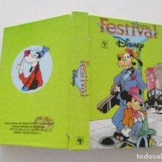 Libros de segunda mano: WALT DISNEY. FESTIVAL DISNEY. RMT85085. . Lote 107513111