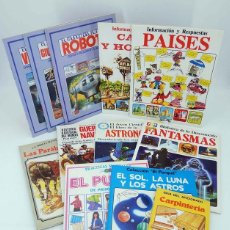 Libros de segunda mano: EDICIONES PLESA. LOTE DE 10 NÚMEROS DIFERENTES. VER LISTADO , 1981. OFRT. Lote 174340497