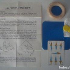 Libros de segunda mano: LIBRERIA GHOTICA. JUEGO DE MAGIA: LA FLECHA FUJITIVA. INCLUYE INSTRUCCIONES Y OBJETOS. 1980.. Lote 107723751