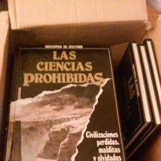 Libros de segunda mano: ENCICLOPEDIA DEL OCULTISMO COMPLETA 25 TOMOS - LAS CIENCIAS PROHIBIDAS - QUORUM (AÑOS 80). Lote 107728667
