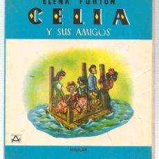 Libros de segunda mano: CELIA,EN EL MUNDO. Nº 5. ELENA FORTÚN. ILUSTRACIONES DE L. DE BEN. AGUILAR. MADRID 1980.(Z/13). Lote 107732191