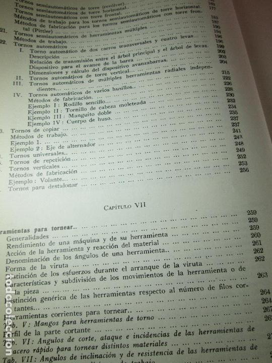 Libros de segunda mano: libro-máquinas,herramientas modernas-mario rossi-hoepli-ed.cientifico.médica-5ªedición-1966 - Foto 14 - 107759243