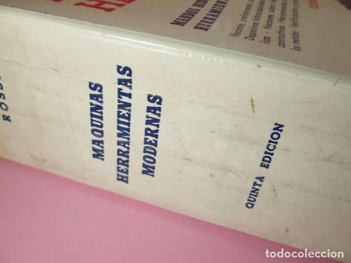 Libros de segunda mano: libro-máquinas,herramientas modernas-mario rossi-hoepli-ed.cientifico.médica-5ªedición-1966 - Foto 20 - 107759243