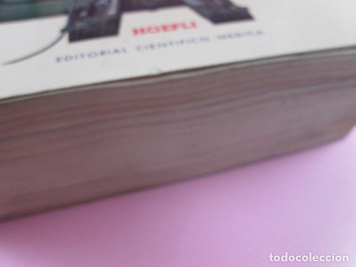Libros de segunda mano: libro-máquinas,herramientas modernas-mario rossi-hoepli-ed.cientifico.médica-5ªedición-1966 - Foto 27 - 107759243