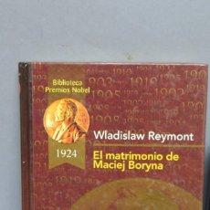 Libros de segunda mano: EL MATRIMONIO DE MACIEJ BORYNA DE WLADISLAW REYMONT. Lote 107760131