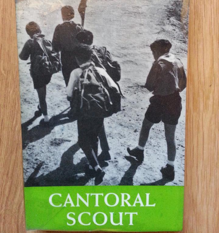 CANTORAL SCOUT (ESCULTISMO). PARTITURAS (Libros de Segunda Mano - Literatura Infantil y Juvenil - Otros)