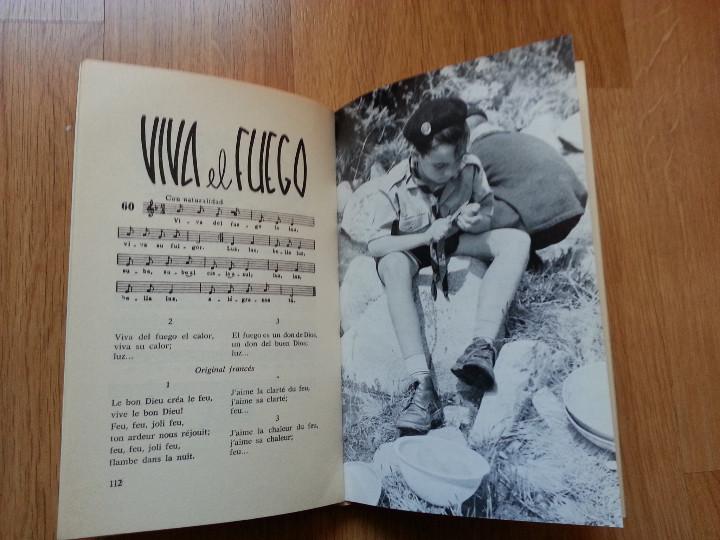 Libros de segunda mano: CANTORAL SCOUT (ESCULTISMO). PARTITURAS - Foto 4 - 107811463