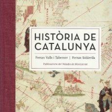Libros de segunda mano: HISTÒRIA DE CATALUNYA, FERRAN VALLS I TABERNER & FERRAN SOLDEVILA -EDICIÓ DE LUXE-. Lote 107851539