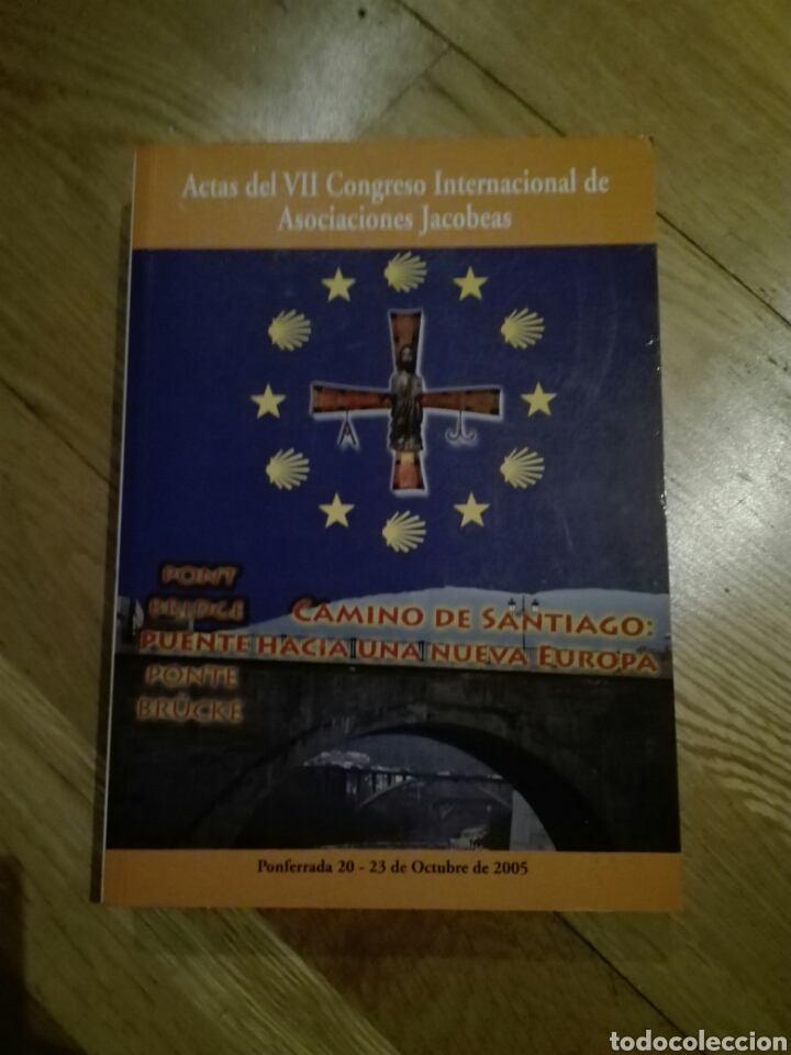 Libros de segunda mano: Actas del VII congreso internacional de asociaciones Jacobeas - Foto 2 - 107864262