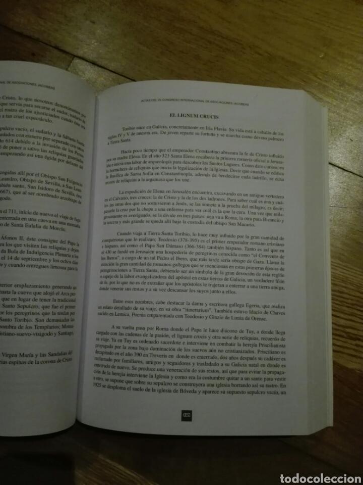Libros de segunda mano: Actas del VII congreso internacional de asociaciones Jacobeas - Foto 4 - 107864262
