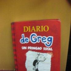 Libros de segunda mano: DIARIO DE GREG. UN PRINGAO TOTAL. JEFF KINNEY. RBA 2016. Lote 107910179