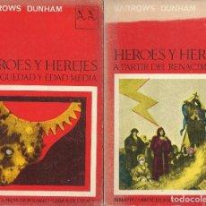 Livros em segunda mão: HEROES Y HEREJES -II VOL-, BARROWS DUNHAM. Lote 197376290