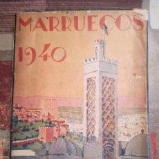 Libros de segunda mano: MARRUECOS 1940 - JOSÉ MARÍA GONZÁLEZ DE LARA - TETUÁN, 1940. Lote 107927075