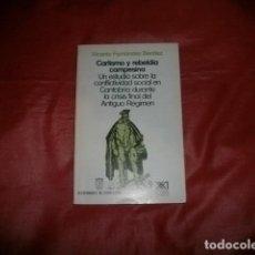 Libros de segunda mano: CARLISMO Y REBELDÍA CAMPESINA - VICENTE FERNÁNDEZ BENÍTEZ. Lote 107998287