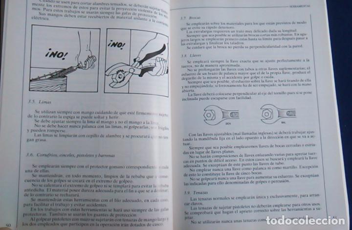 Libros de segunda mano: Manual normas de seguridad e higiene en el trabajo, Telefónica. 1988. - Foto 7 - 108081139