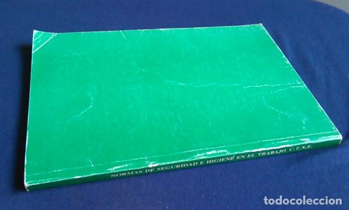 Libros de segunda mano: Manual normas de seguridad e higiene en el trabajo, Telefónica. 1988. - Foto 8 - 108081139