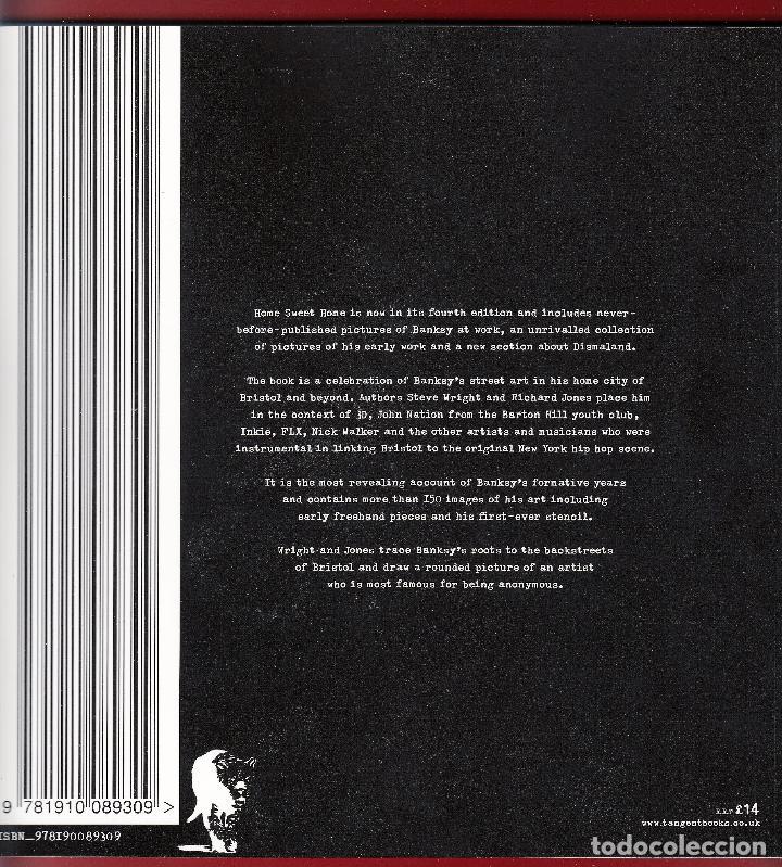 Libros de segunda mano: BANKSY´S BRISTOL HOME SWEET HOME STEVE WRIGTH & RICHARD JONES TANGENT BOOKS 2016 INCLUDES DISMALAND - Foto 2 - 221441912