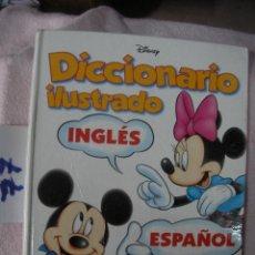 Libros de segunda mano: DICCIONARIO DISNEY ILUSTRADO INGLES ESPAÑOL. Lote 108301919