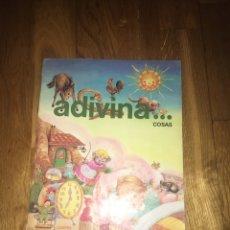 """Libros de segunda mano: LIBRO INFANTIL ADIVINA...COSAS COLECCIÓN """"ADIVINA"""" SUSAETA. Lote 108350900"""