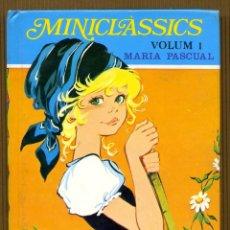 Libros de segunda mano: MINICLÀSSICS VOL. 1 - LA CAPUTXETA VERMELLA MARIA PASCUAL. Lote 108362027