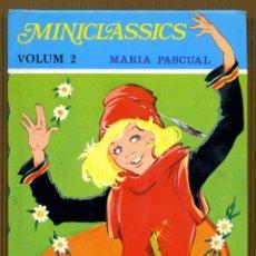Libros de segunda mano: MINICLÀSSICS VOL. 2 - LA RATETA PRESUMIDA MARIA PASCUAL. Lote 108362127