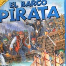 Libros de segunda mano: EL BARCO PIRATA PARA CONSTRUIR EL BARCO EN 3D (BRUÑO, 2012). Lote 108386383