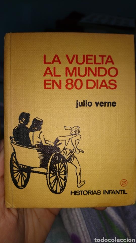 LA VUELTA AL MUNDO EN 80 DÍAS JULIO VERNE (Libros de Segunda Mano - Literatura Infantil y Juvenil - Otros)