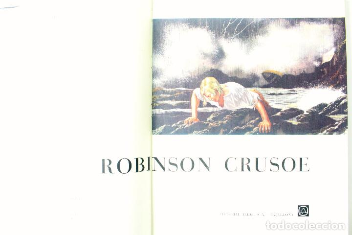 Libros de segunda mano: L-3676. ROBINSON CRUSOE. DANIEL DEFOE. EDEIT. TEIDE 1967. ILUSTRACIONES DE GIOVANNI CASELLI - Foto 3 - 108458275