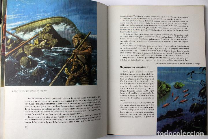Libros de segunda mano: L-3676. ROBINSON CRUSOE. DANIEL DEFOE. EDEIT. TEIDE 1967. ILUSTRACIONES DE GIOVANNI CASELLI - Foto 6 - 108458275